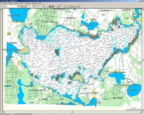Śniardwy - mapa żeglarska, legalnie z internetu