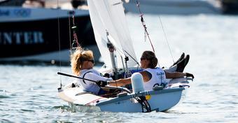 Rio 2016: środa bez wiatru i wyścigow. Plan na czwartek - 4 wyścigi medalowe